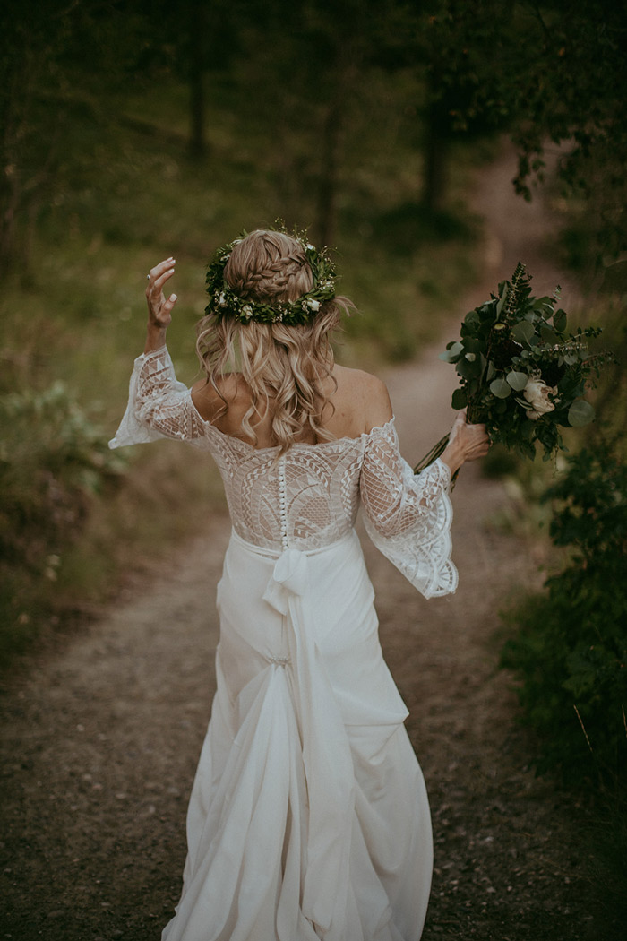 Tracy Spencer Family - Rustic Bohemian Wedding - Hair