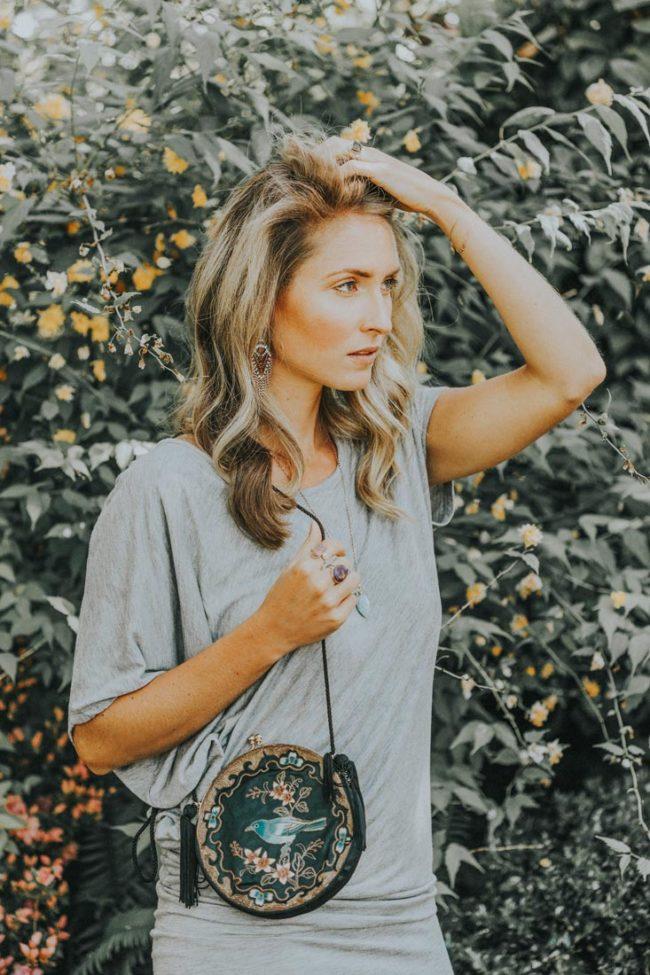 Bohemian style makeup & hair photoshoot - Kathryn Ramsay Esthetics