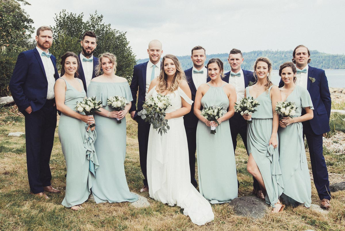 Chloe and Robbie Wedding - Makeup and Hair - Wedding Party